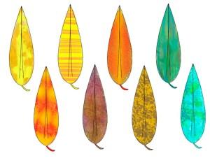 8 leaves