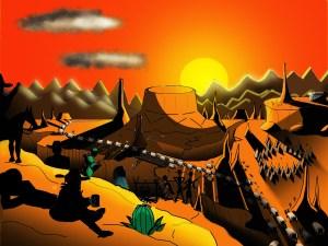 desert west day