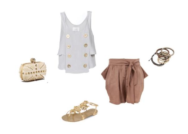 shorts look_hanley mellon_alexander mcqueen clutch_0