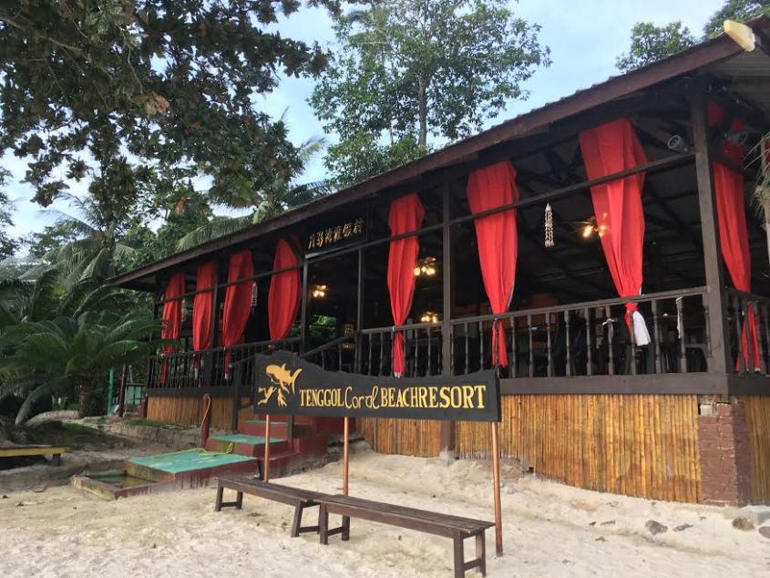 77 - Tenggol Coral Beach Resort 月影湾の度假村