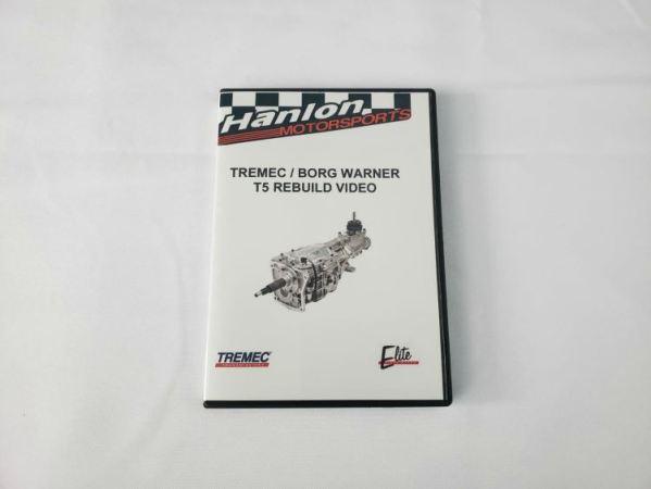 hms, hanlon motorsports, borg warner, tremec, t5, rebuild, bangin bob hanlon, maintain, transmission, refresh, dvd how to, instructional dvd, how to guide tremec trans