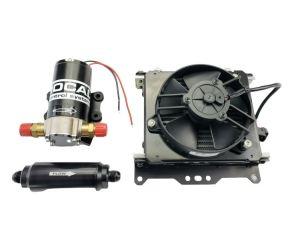 Tremec, Transmission cooler, oil cooler, universal transmission cooler, hanlon motorsports, HMS