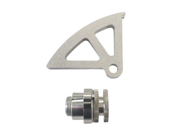 hanlon moto4r sports, hms, pro 5.0, quardrant adjuster, firewall adjuster, mustang, cable, hook adjuster