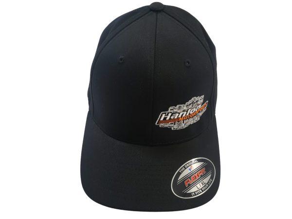 OG, black, black grey, black white, original style, apparel, Hat, Hats, HMS Hat, Hanlon Motorsports Hat, FlexFit, FlexFit Hat, Black FlexFit, Black FlexFit Hat, Small FlexFit, S/M FlexFit, Large FlexFit, XXL FlexFit, L/XL FlexFit, XL/XXL FlexFit