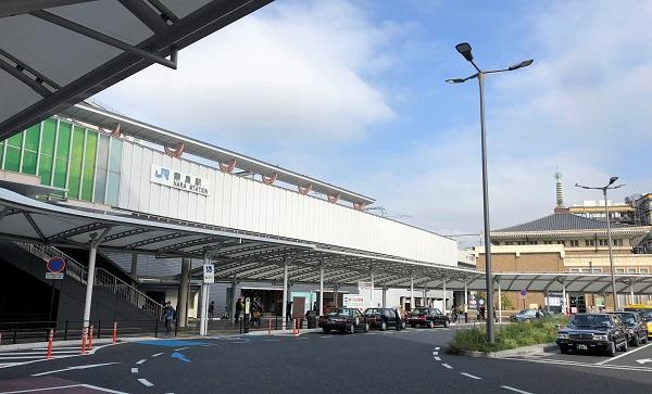 ★20181105秋の奈良一人旅最終日1・JR奈良駅前で