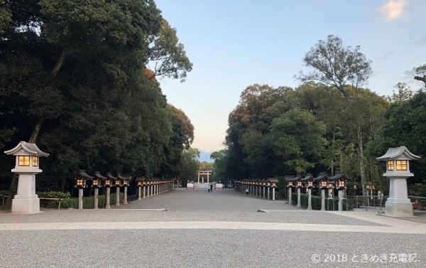 奈良一人旅・橿原神宮の表参道