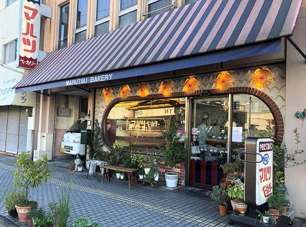 桜井駅前のマルツベーカリー|奈良一人旅