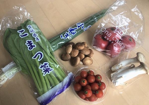202005「Una casita笹塚店」で買った国産&新鮮&激安の野菜たち