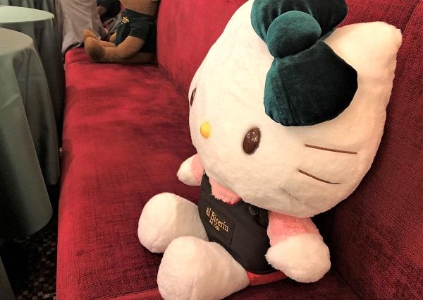 202006新宿高島屋のカフェ「ビチェリン」。コラボ中のキティちゃん