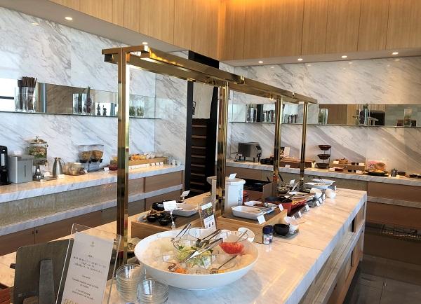 202104春の奈良一人旅。カンデオホテルズ奈良橿原。朝食をとるダイニング