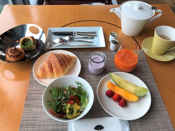 202105ホテル「マンダリンオリエンタル東京」。「ケシキ」の朝食