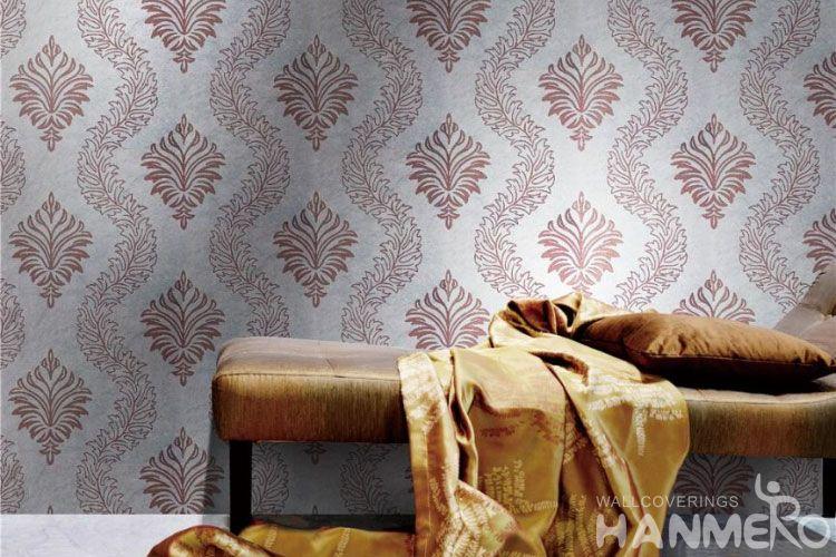 Hanmero Modern Design Silk Low Price Wallpaper 0 53 10m Nature Sense Wallcovering Factory For Home Bedroom Decor