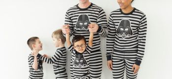 Matching Star Wars pajamas for the family