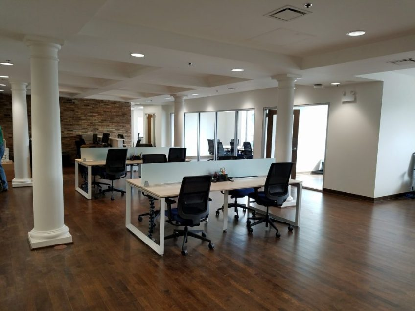 Office build out in Hinsdale Illinois