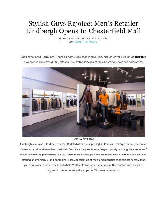 """Lindbergh made """"Alive"""" Magazine"""