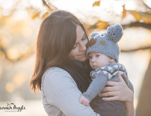 Autumn baby Shoot