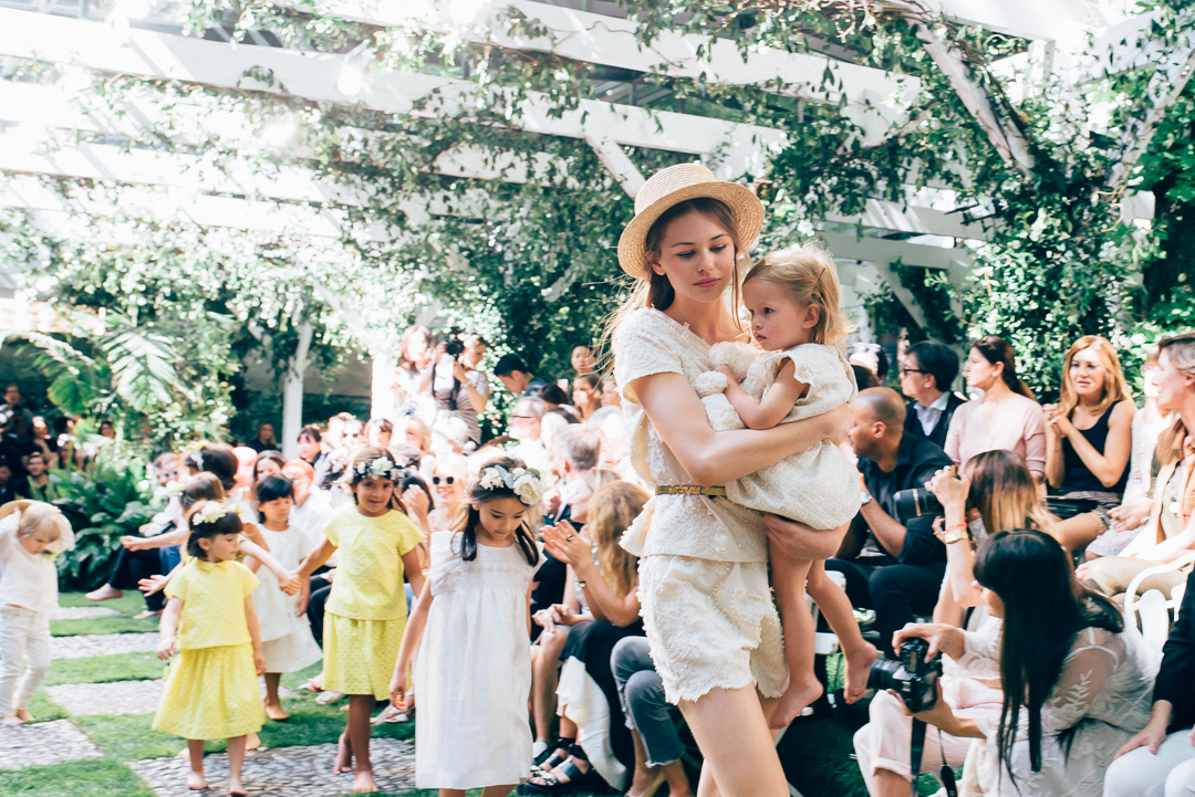Bonpoint SS17 children's wear Paris fashion show