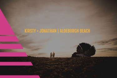 Aldeburgh Beach, Suffolk | Prewedding shoot | Kirsty + Jonathan