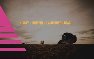 Aldeburgh Beach, Suffolk | Prewedding shoot | Kirsty + Jonathan