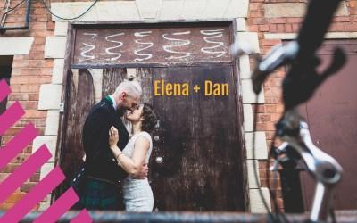 1000 Paper Cranes  | Elena + Dan's crafty Wedding
