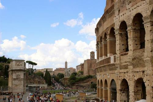 Roman Forum and Colosseum - Visiting Rome for the First Time
