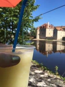 Drinks on the terrasse - Montmorillon France