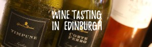 Wine Tasting in Edinburgh - Header