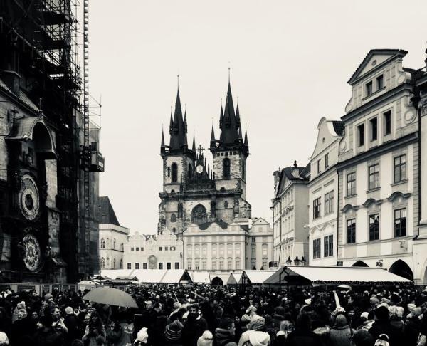 Church of our Lady before Tyn - Gothic - An Architectural Tour of Prague