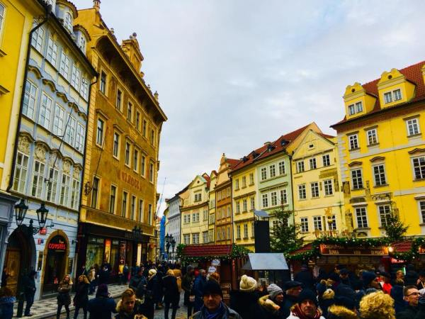Renaissance and Baroque Frontages on Small Square - An Architectural Tour of Prague