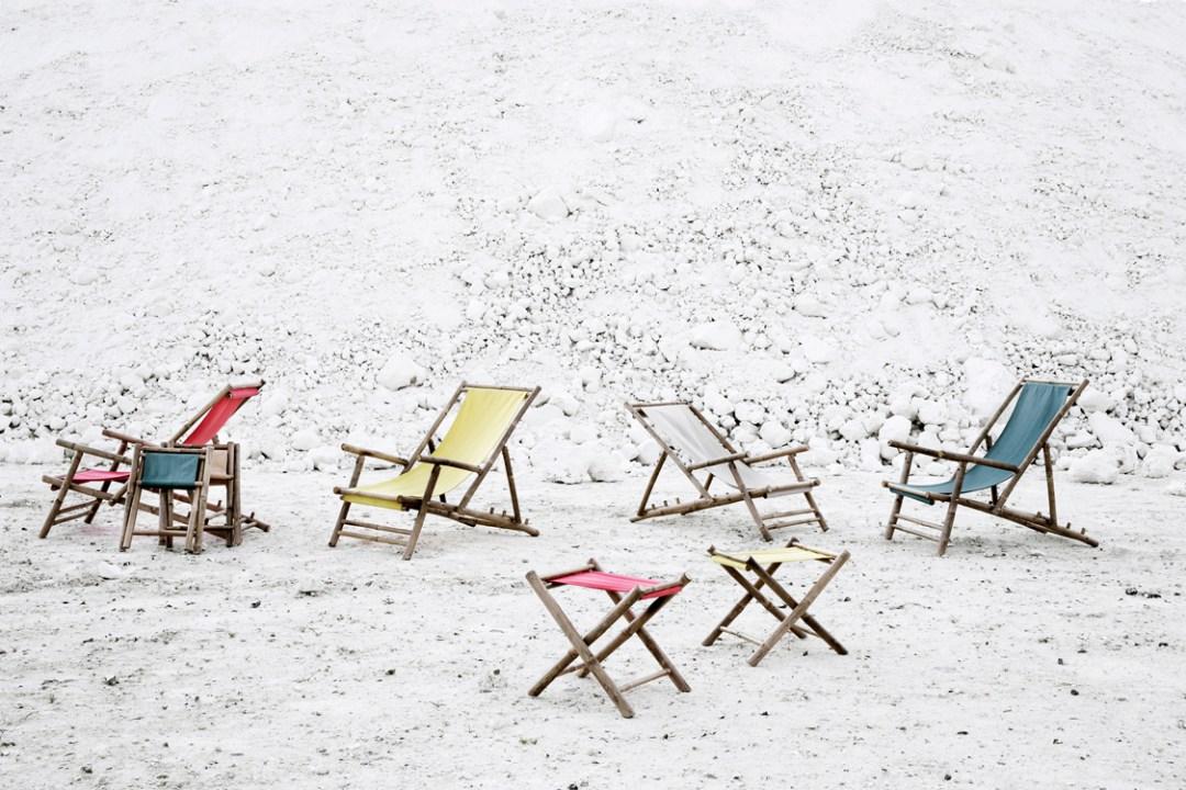 Broste deck chair