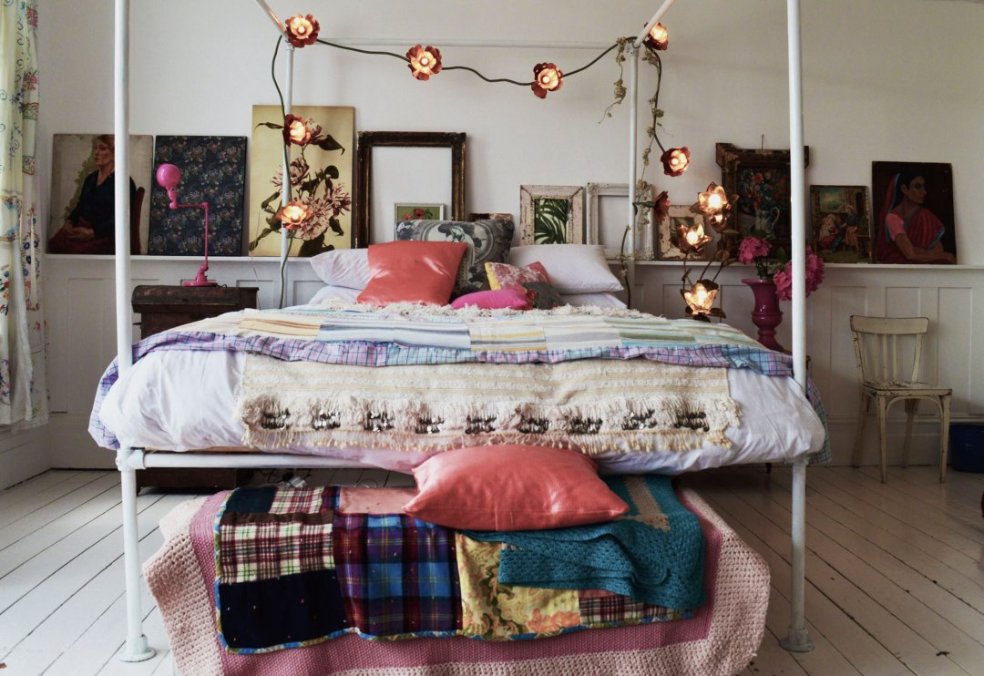 Boho bedroom | Hannah in the house