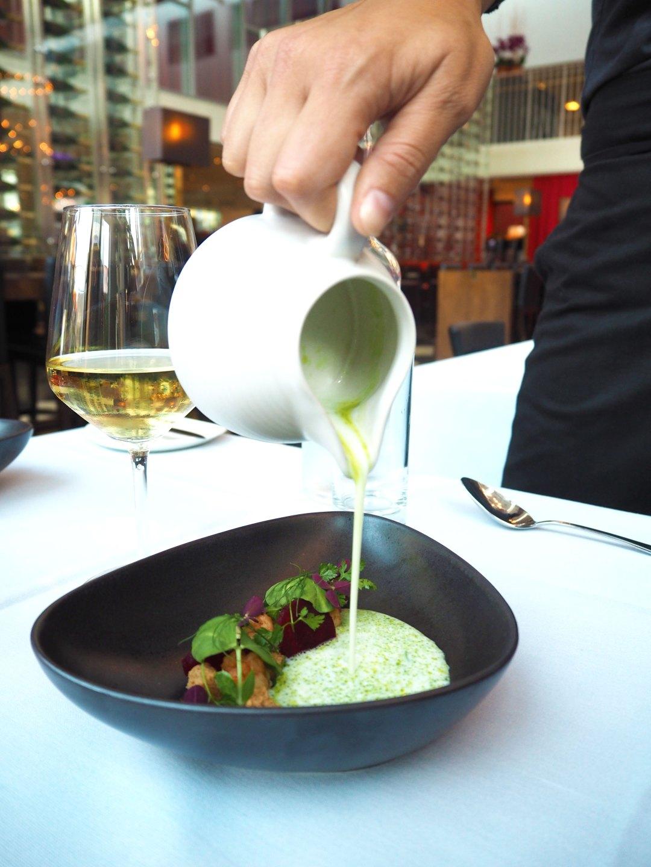 Central Kitchen Copenhagen - Buttermilk-Beetroot-Norweigan Lobster