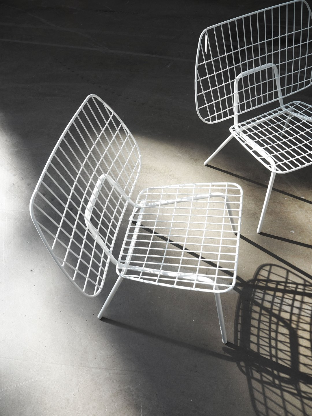 Wire chair by Menu