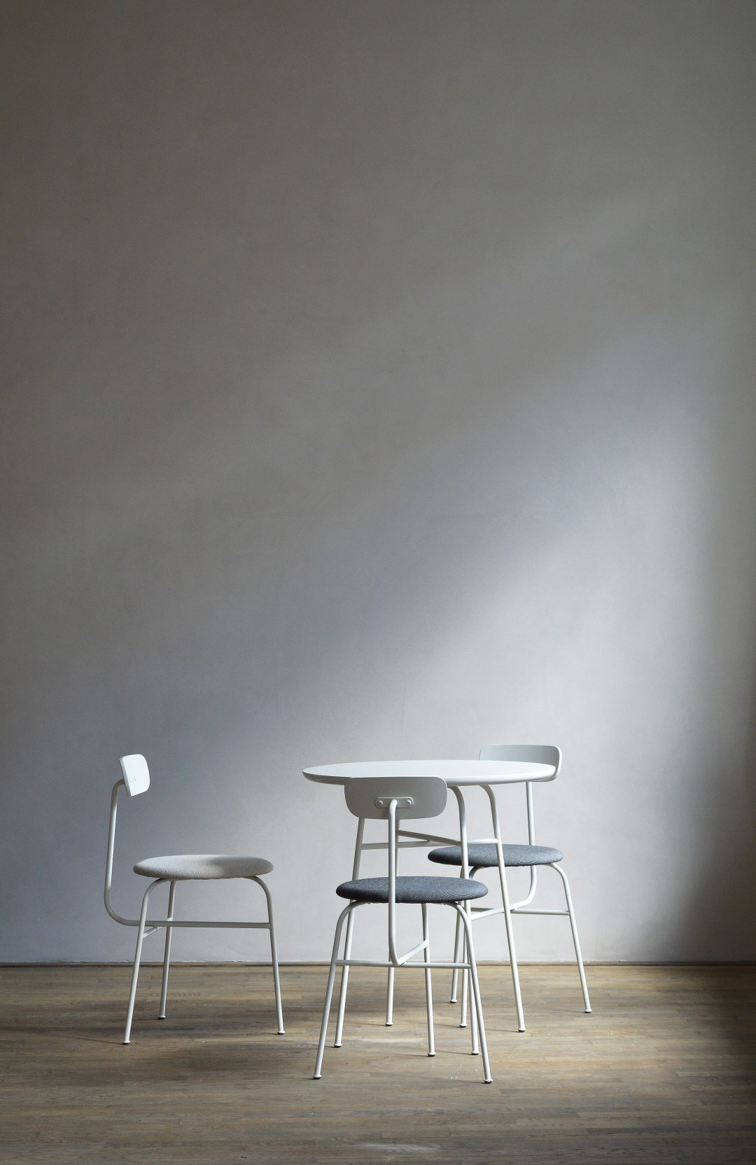 kinfolk gallery, menu chairs, norm architects, danish design, kinfolk