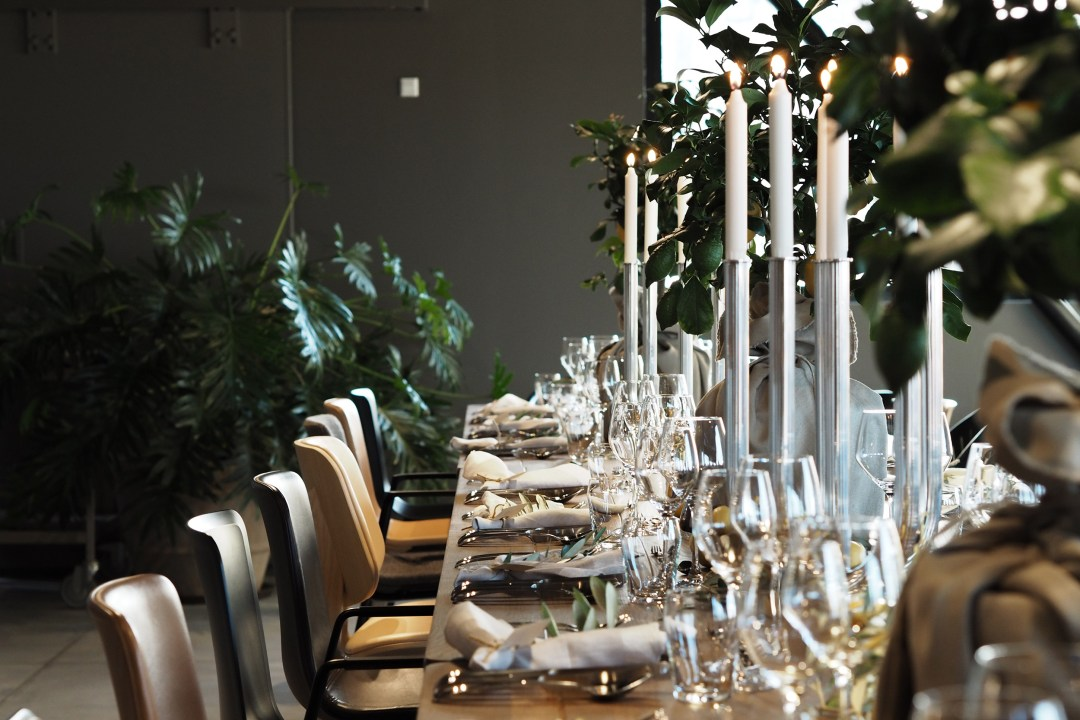 Dinner with Fredericia and Georg Jensen