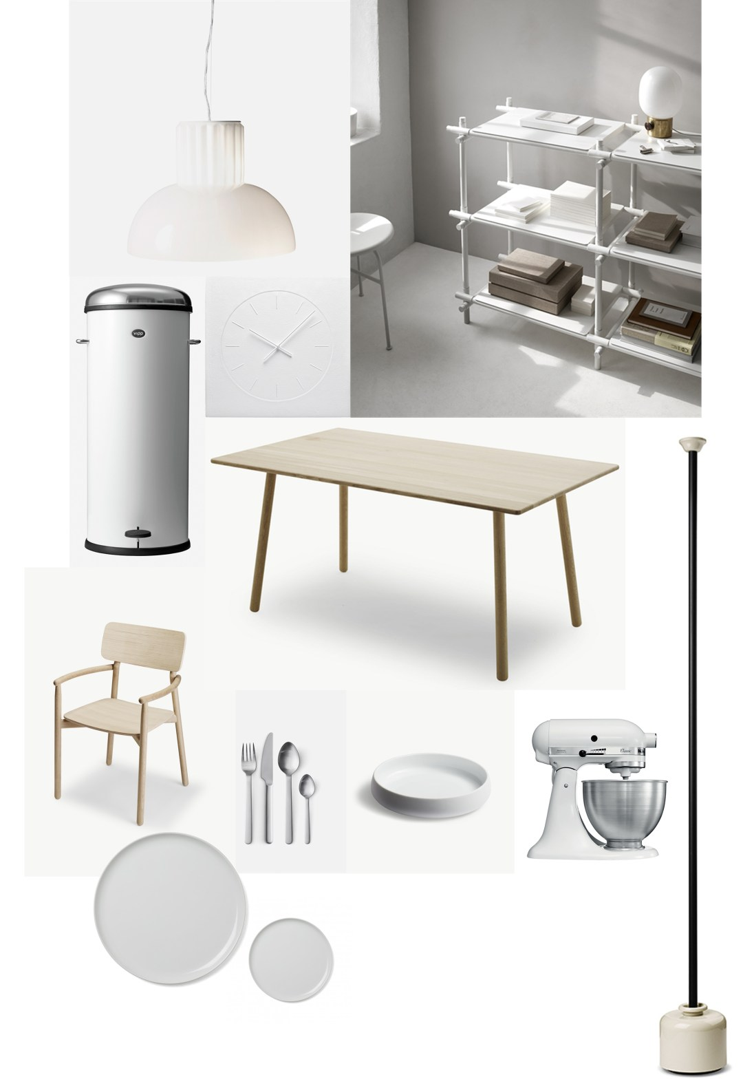 Scandinavian minimalist kitchen/diner inspiration