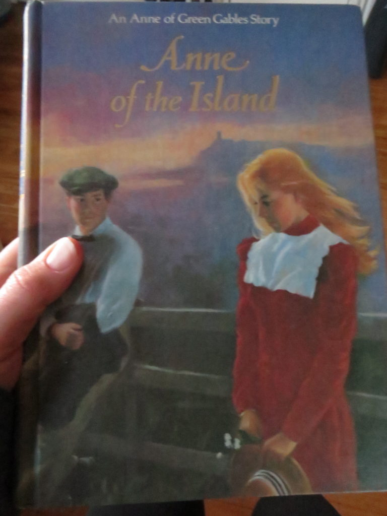 Anne of the Island, my favorite in the Anne series