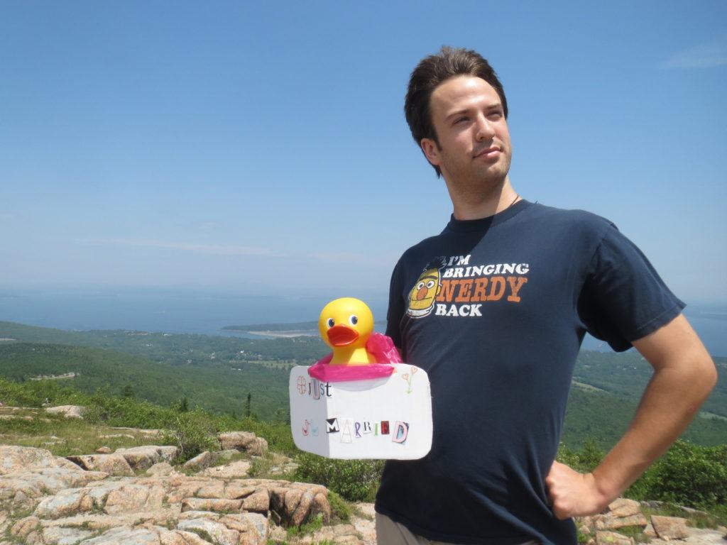 Big Duck and David