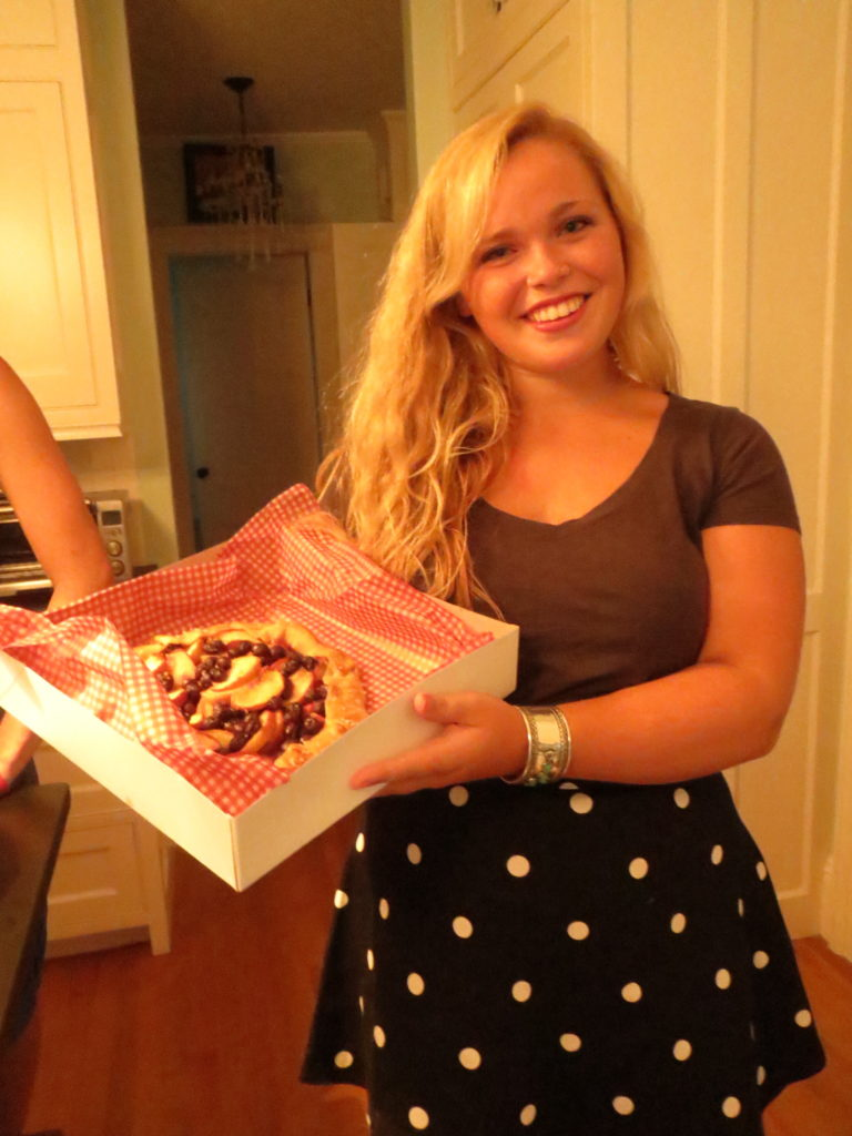 Elizabeth's fruit tart