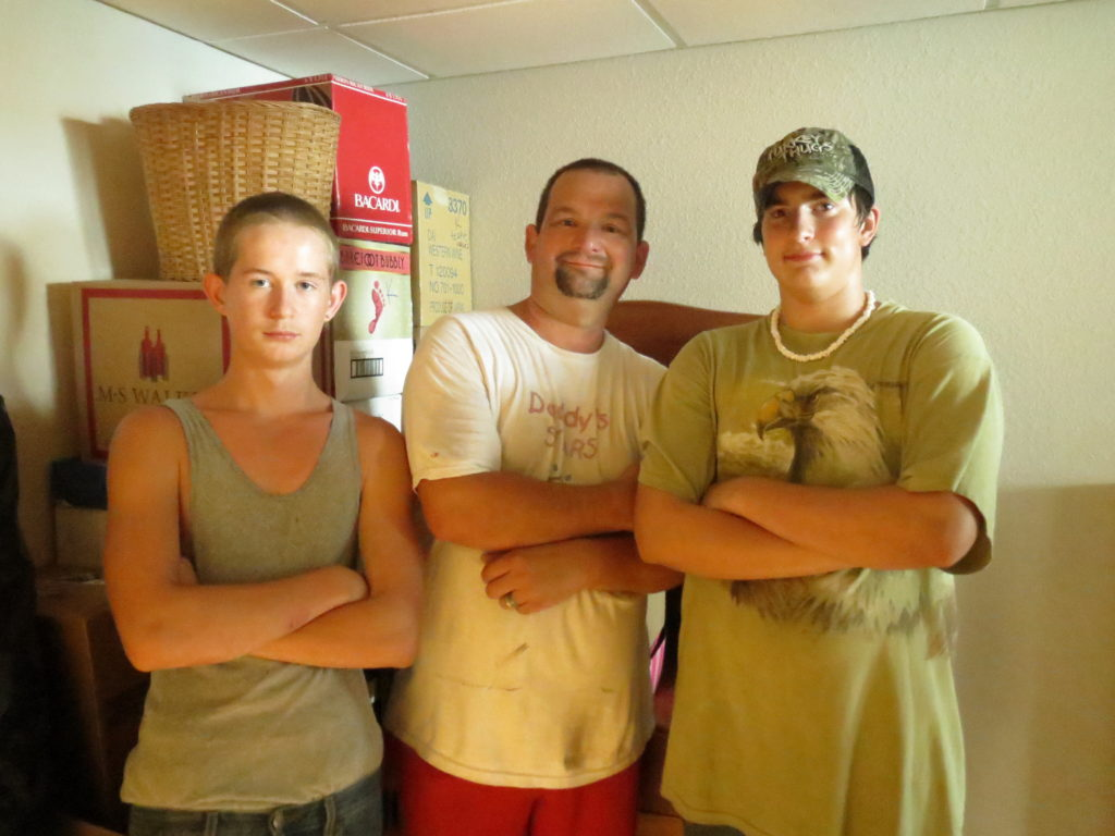 Tristan, Gerald & Cody