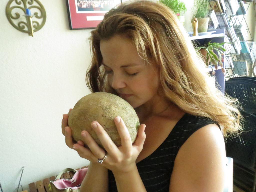 fresh cantaloupe