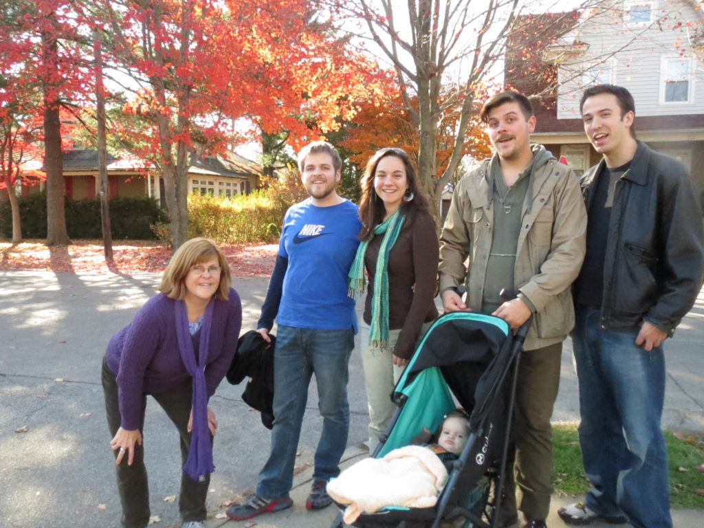 Thanksgiving walk