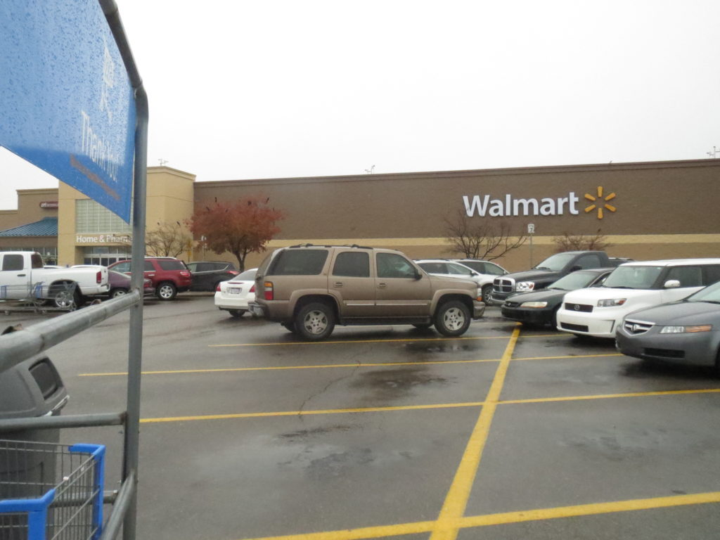 one of six Walmarts