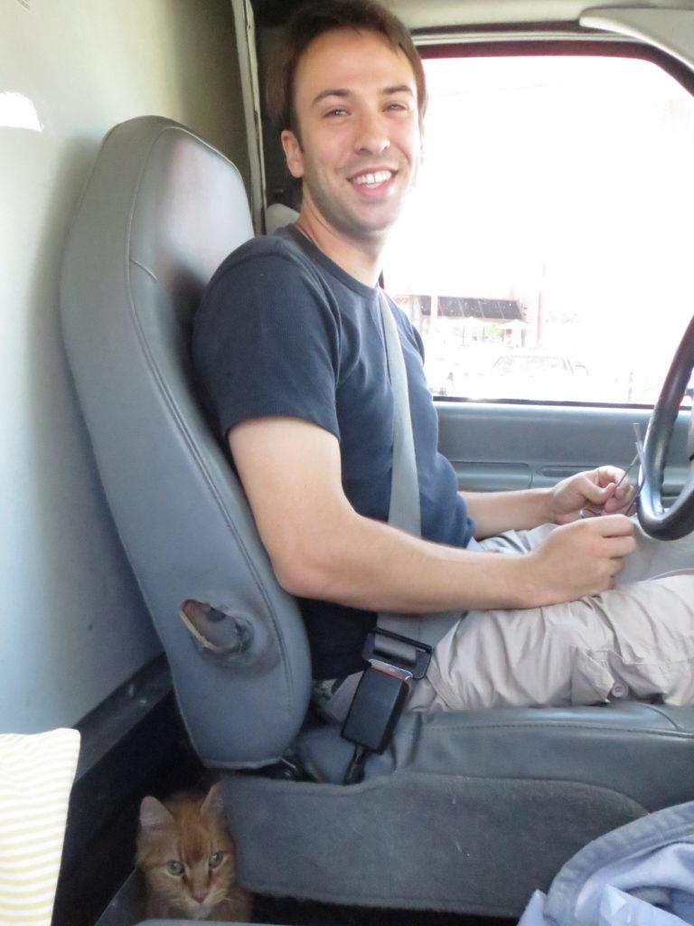 on the road to Kansas