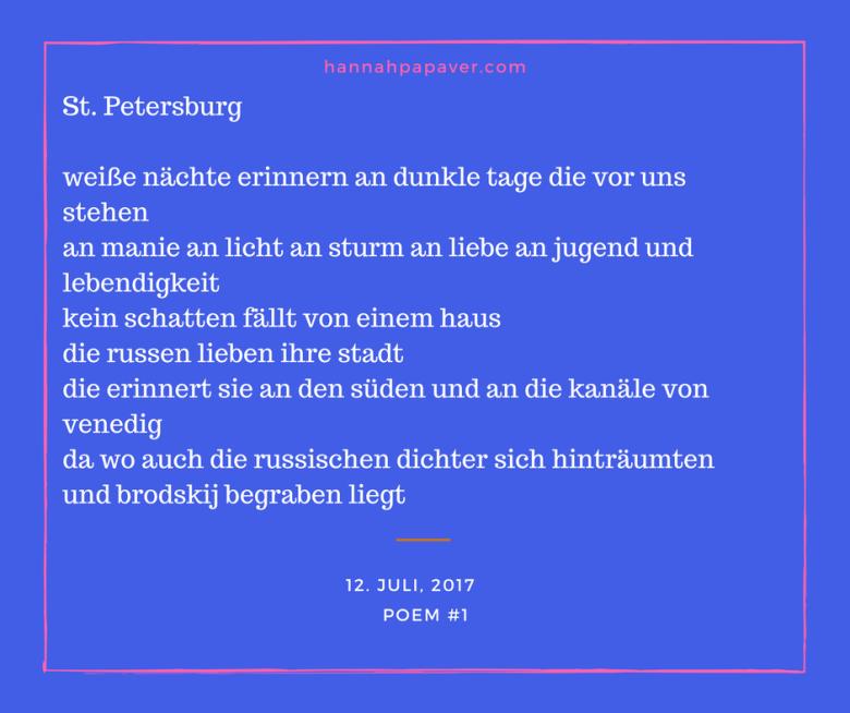 st. petersburg - poem #1