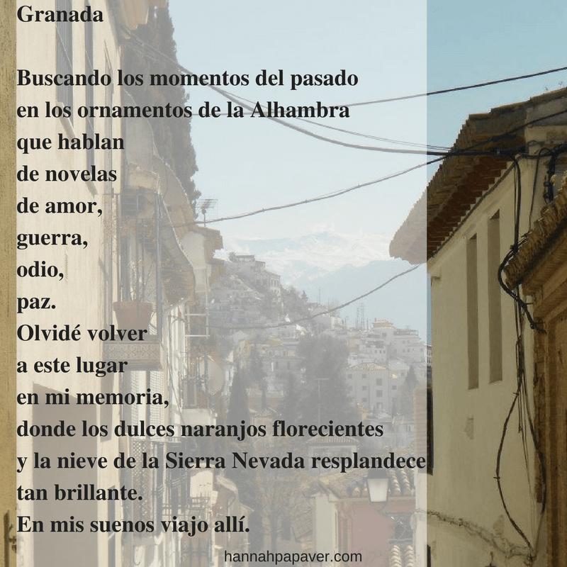 Granada – Gedicht #5