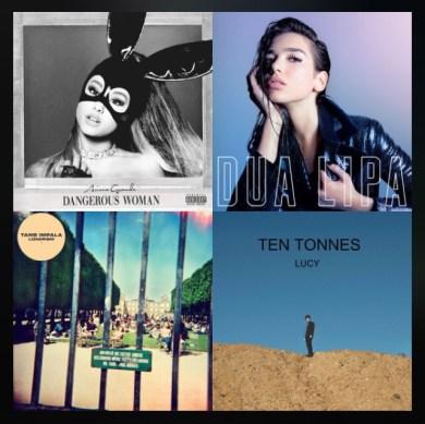 Monthly music picks of Ariana Grande, Dupa Lipa, Tame Impala and Ten Tonnes