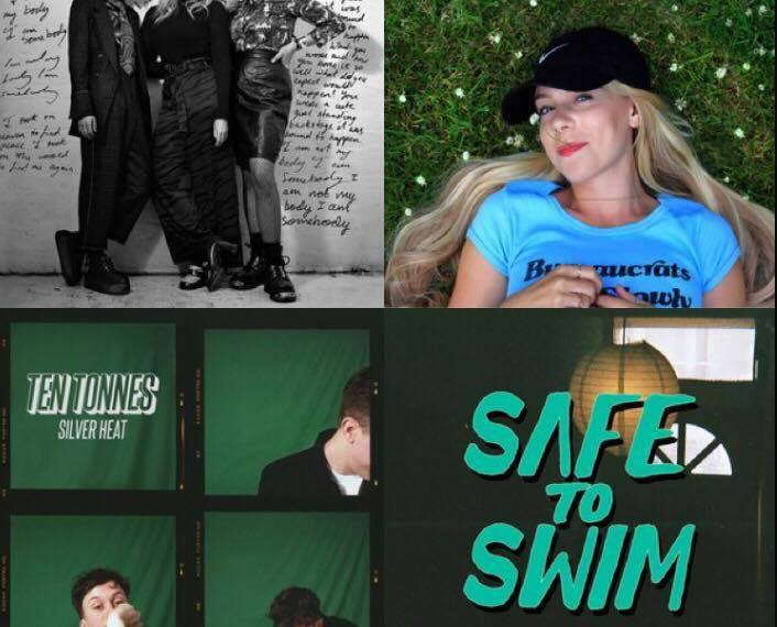 Dream Wife, Pixey, Ten Tonnes, Safe to Swim