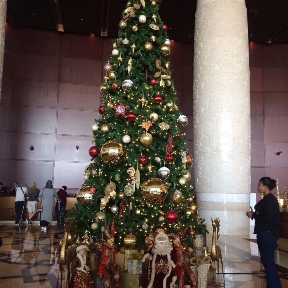 Hannah Jayne Christmas Tree Dubai