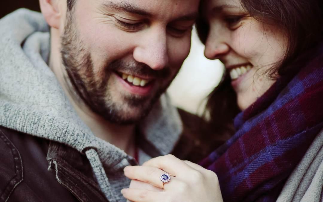Elizabeth & John's engagement portrait shoot